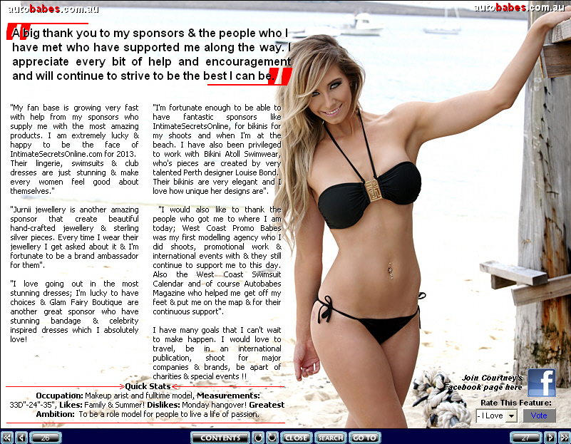 See more of Courtney Piercy @ autobabes.com.au